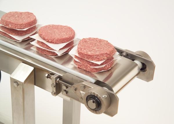 Aufrechterhaltung der Lebensmittelsicherheit mit Edelstahl-Transportbändern